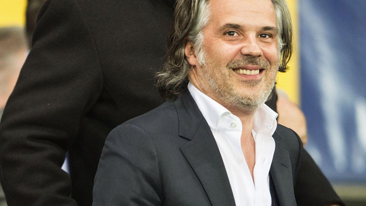 Vincent Labrune a été élu président de la Ligue de football professionnel.