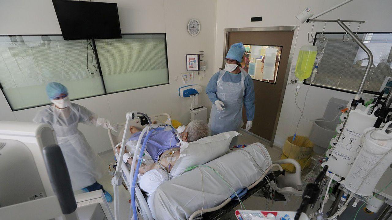 Le nombre de patients hospitalisés au cours des sept derniers jours en France s'élève à 2.202.