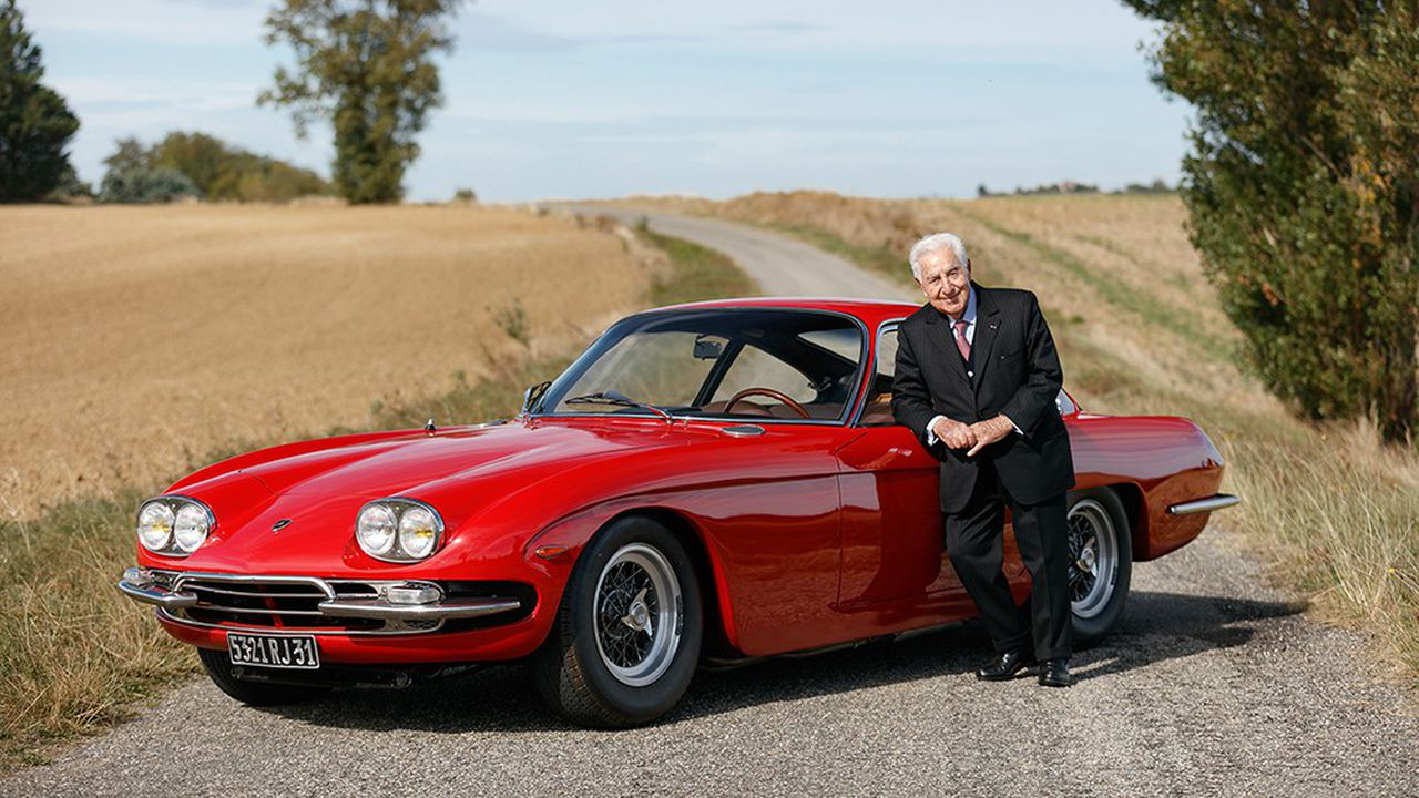 Cette Lamborghini 400GT d'André Trigano est estimée entre 400 000 et 600 000 euros.