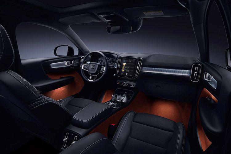 Volvo XC40 : branché