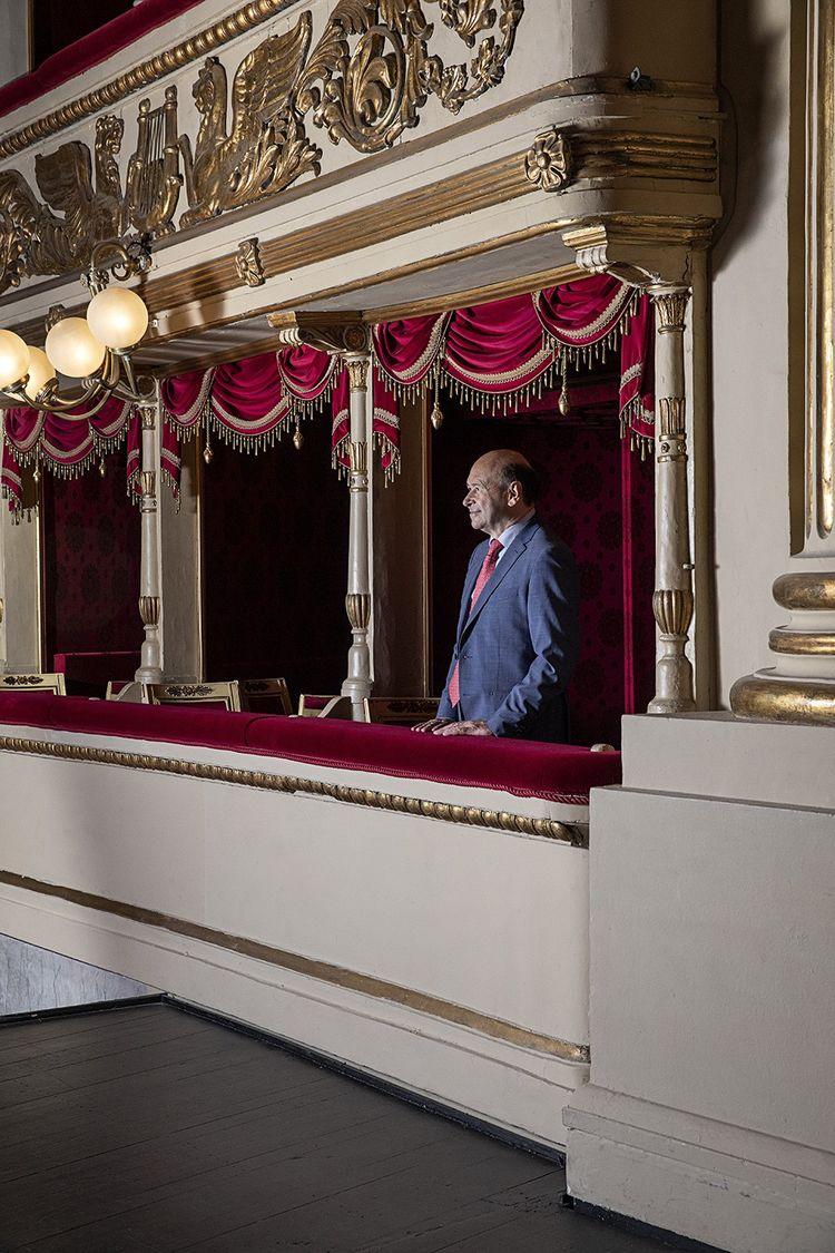 Dominique Meyer, nouveau directeur de l'opéra de Milan.