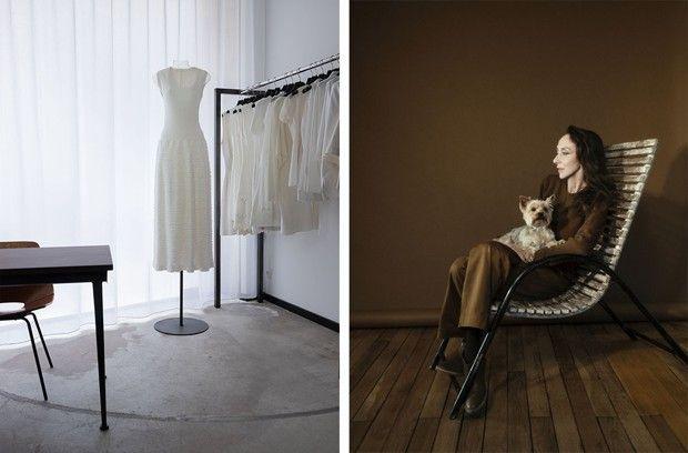 La Petite Boutique Alaïa, supervisée par Anouschka. L'ancien mannequin est archiviste de mode et a commencé sa collection à la fin des années 1970.