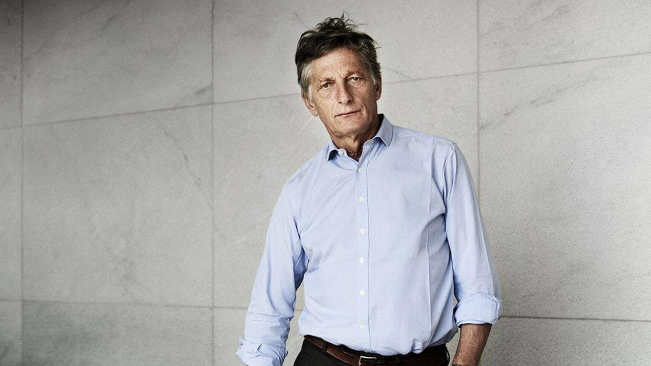 Le président du directoire de M6, photographié en juillet dernier au siège de la chaîne, à Neuilly-sur-Seine.