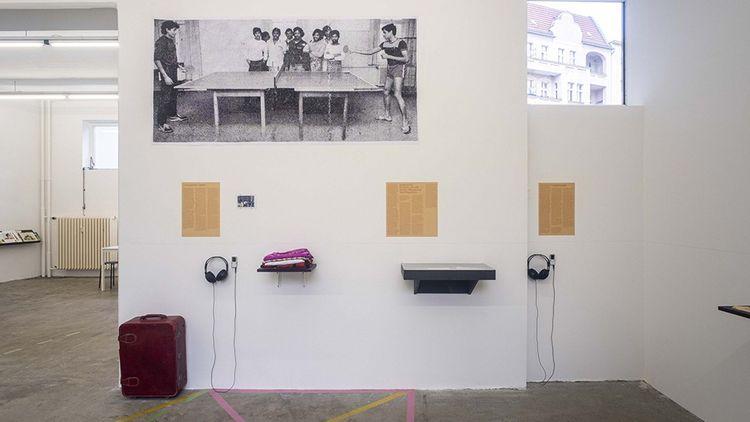 Affect Archives, installation de Sinthujan Varatharajah et Osias Yanov.