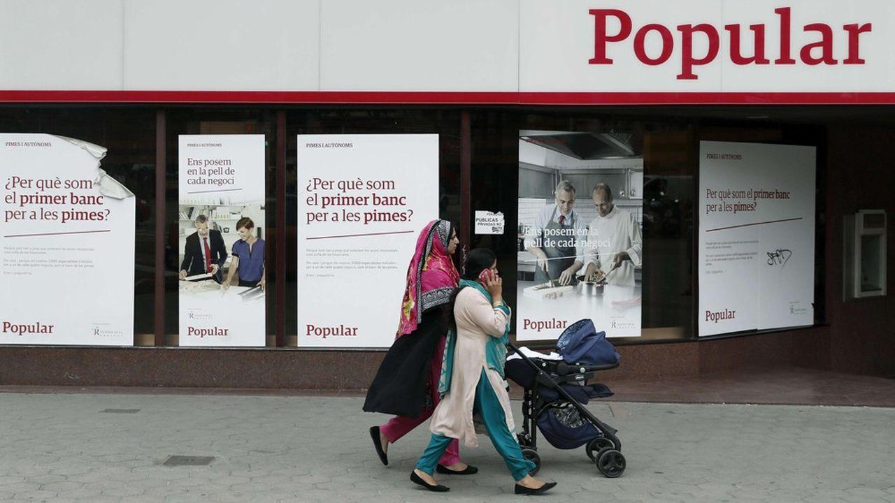 Banco Popular a été placée en résolution et reprise par Santander en 2017.