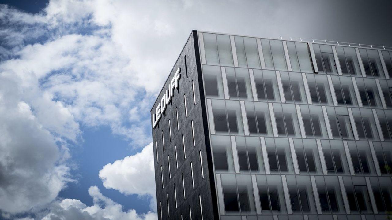 Le nouveau siège social du groupe Le Duff à Rennes, où est né cet empire de la restauration et de l'industrie.