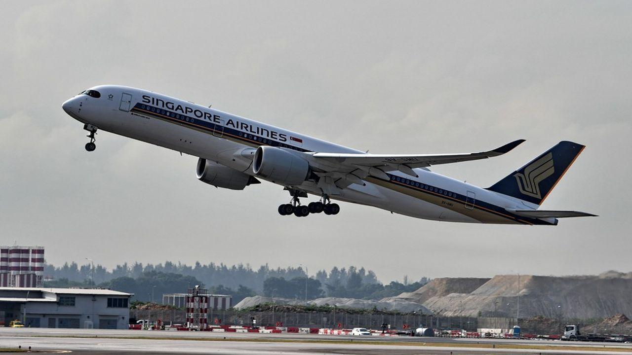 L'Association internationale du transport aérien a estimé que le trafic aérien mondial ne retrouverait pas son niveau d'avant-crise avant 2024.