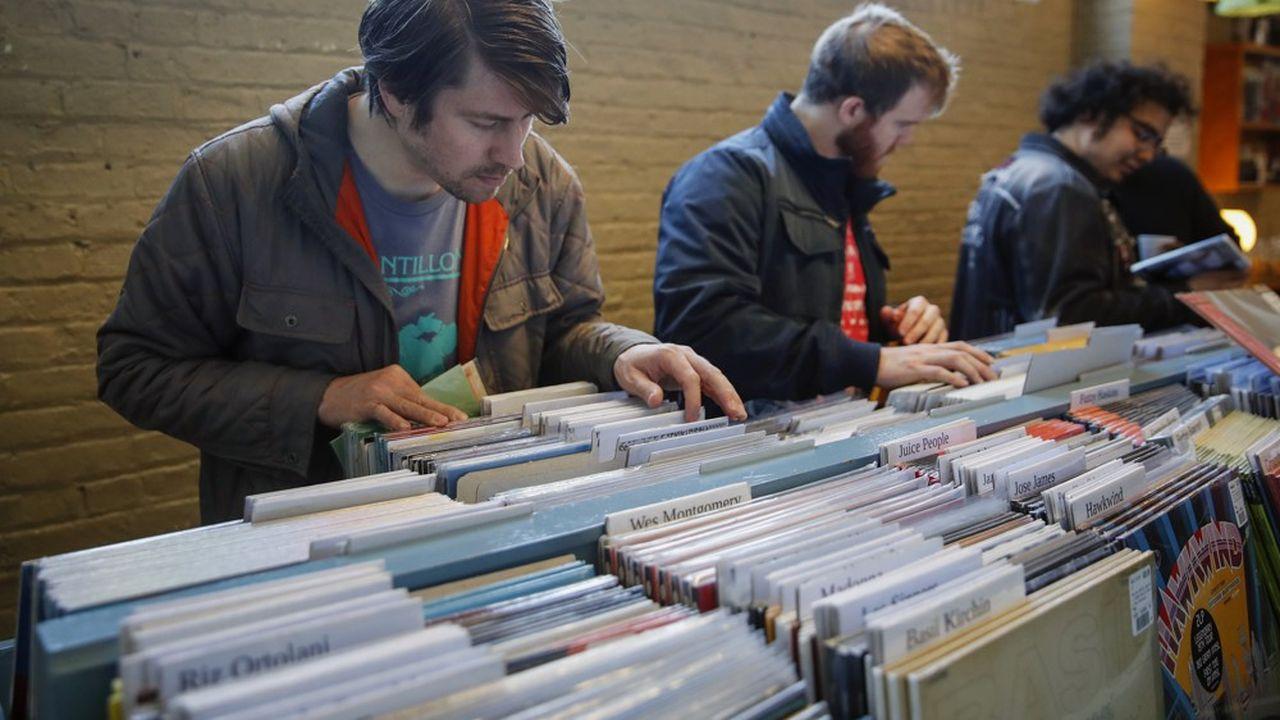 Selon des chiffres publiés par la Recording Industry Association of America, 8,8millions de disques vinyle se sont écoulés aux Etats-Unis en six mois.