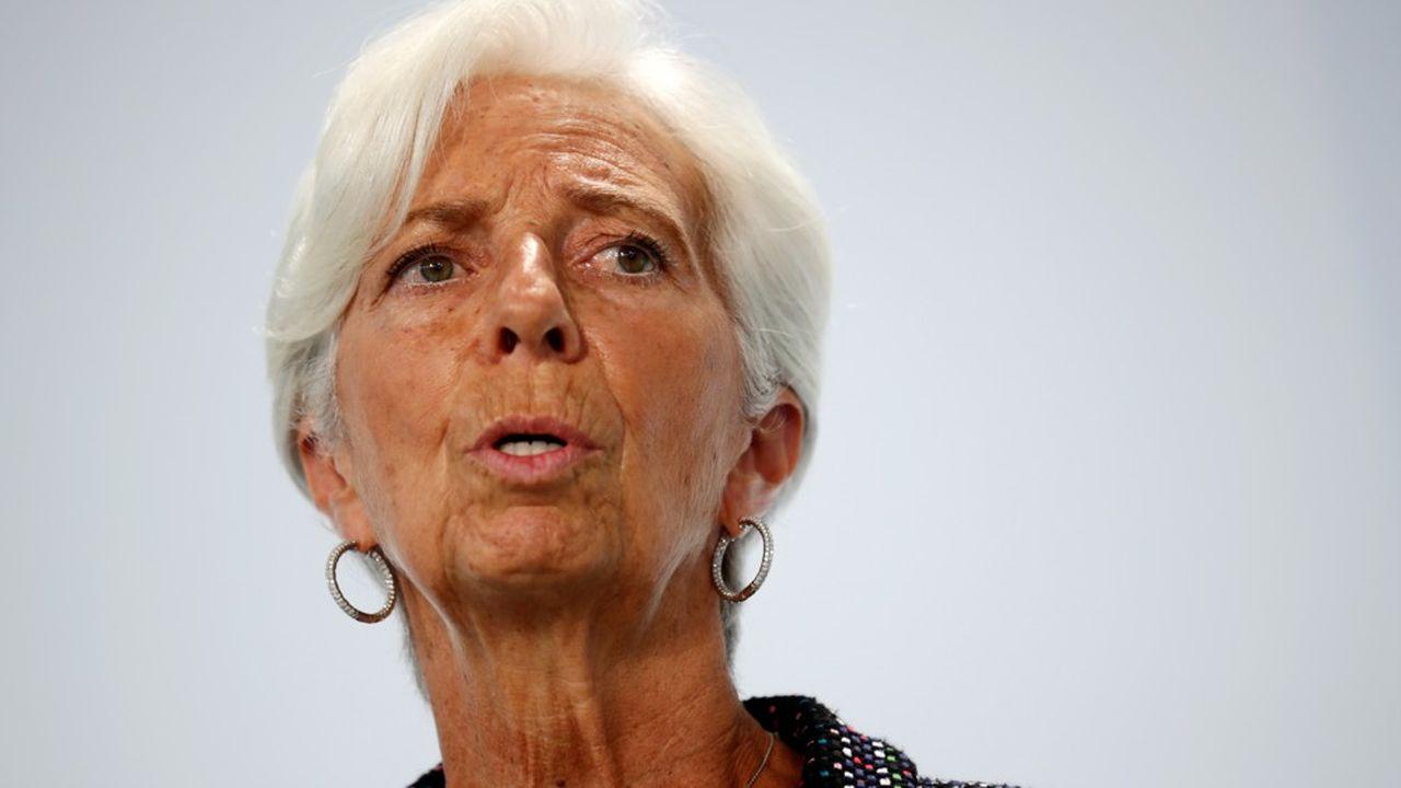Christine Lagarde a tenu vendredi à rassurer sur la détermination de la BCE à agir.