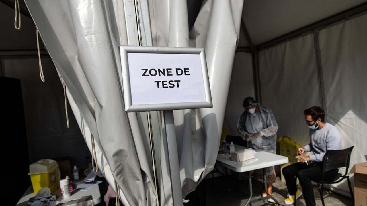 Avec plus de 1 million de tests réalisés par semaine, la France est devenue « le troisième pays qui teste le plus en Europe », s'est félicité Jean Castex.