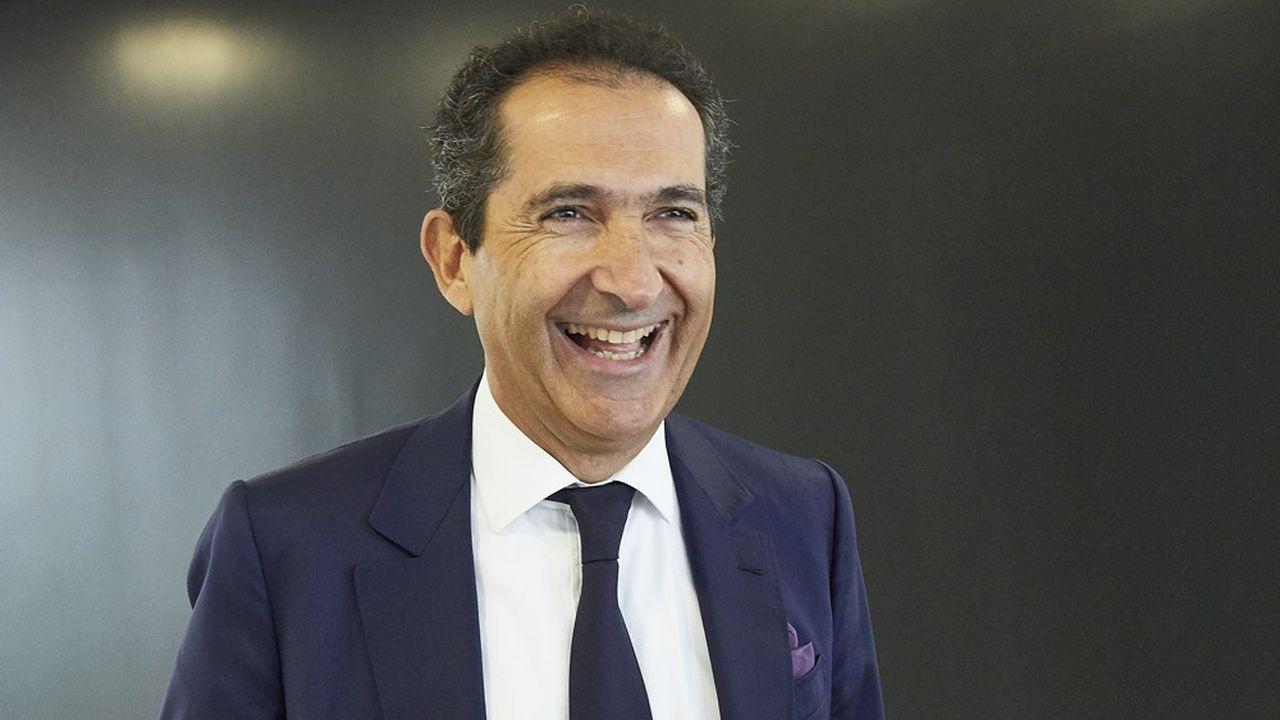 Patrick Drahi, PDG-fondateur d'Altice.