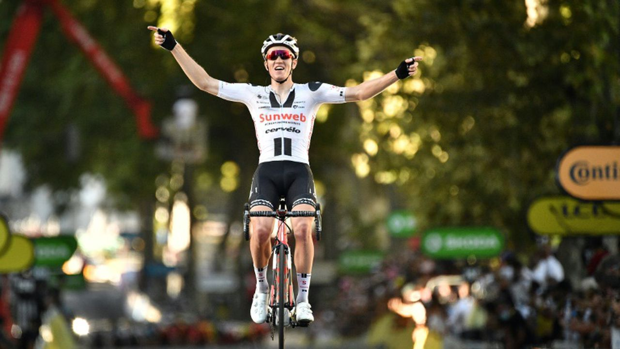 Tour de France - Tour de France : Soren Kragh Andersen s'impose à Lyon