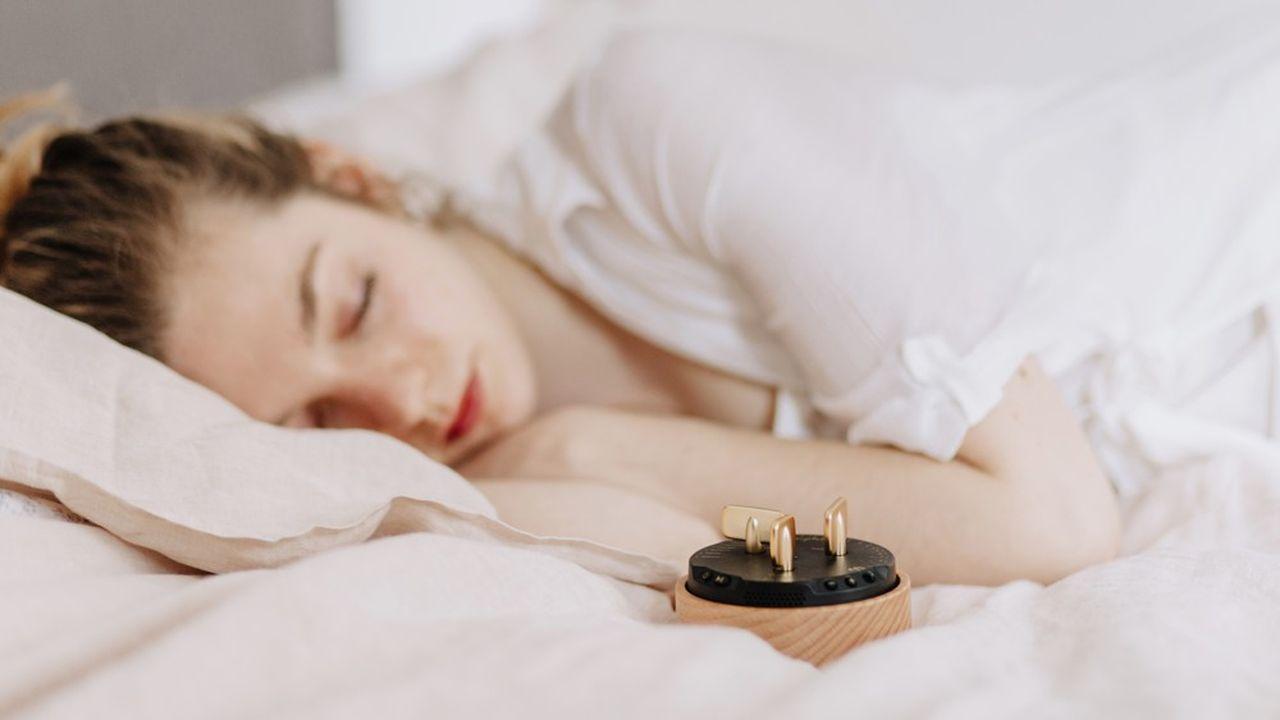 Le boîtier Morphée diffuse des programmes de méditation spécialisés dans l'endormissement.