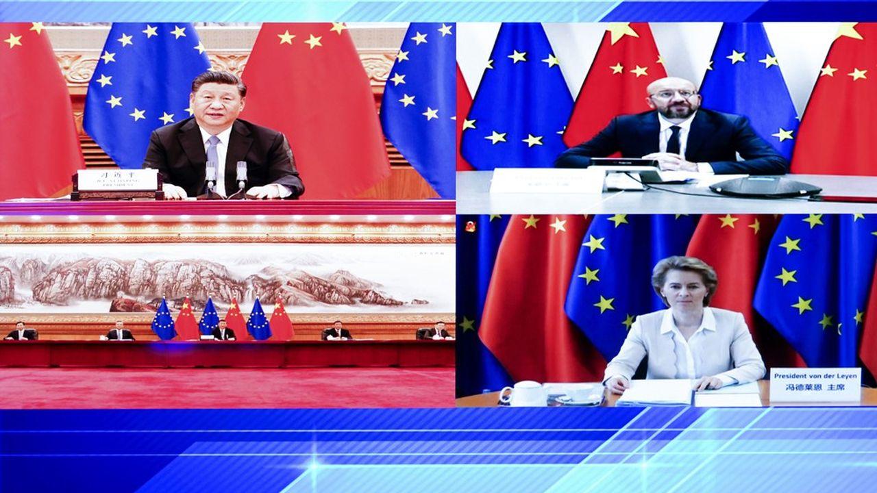 En juin dernier, les responsables européens et chinois avaient déjà échangé par visioconférence.