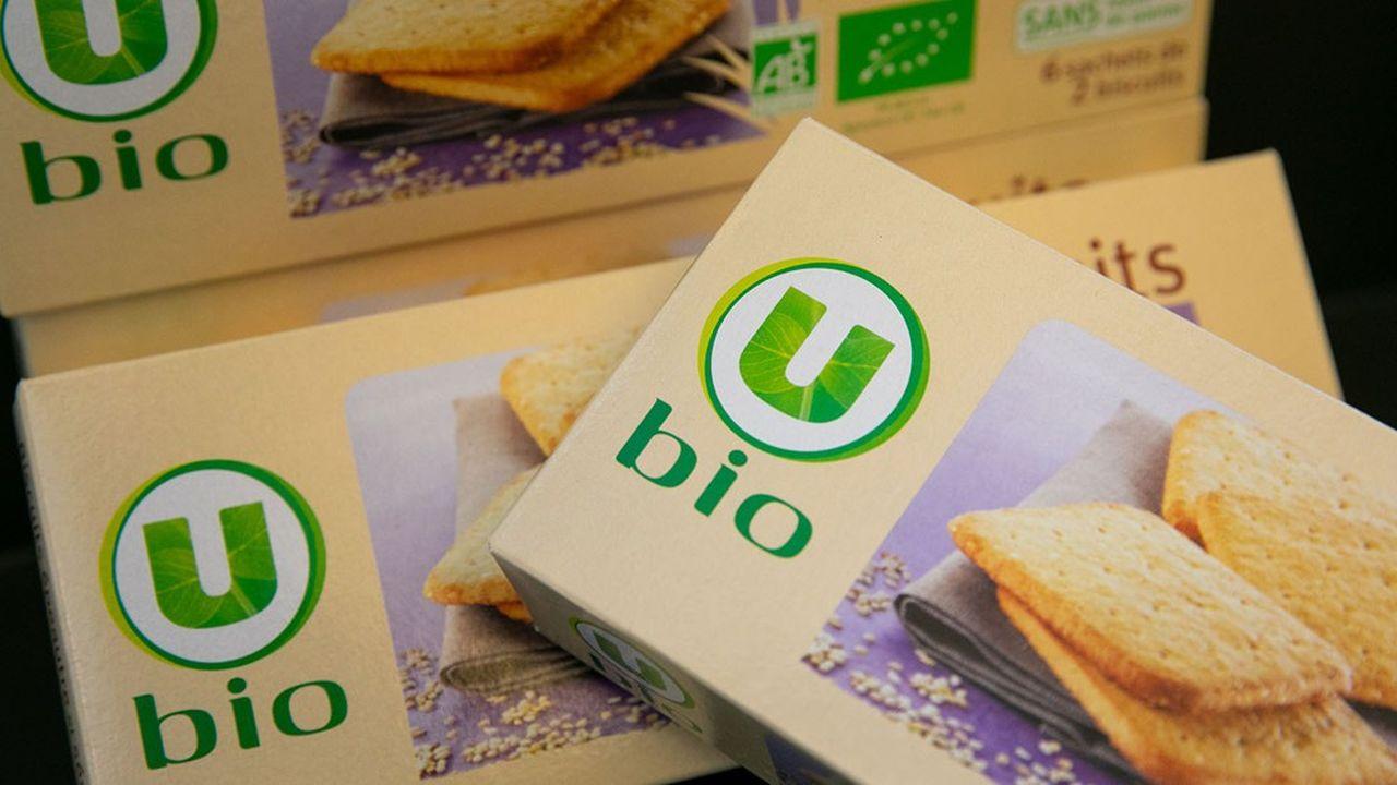 Aujourd'hui, l'enseigne coopérative fabrique en France 81% de ses produits U Bio.
