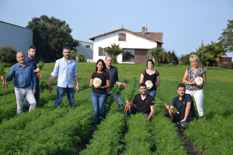 Nouveaux Champs, un collectif de producteurs de fruits et légumes.
