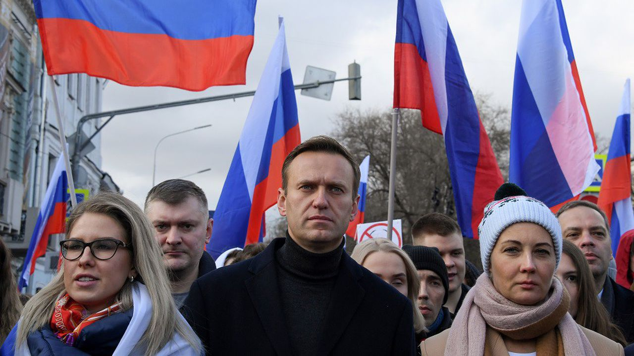 Selon ses partisans, Alexeï Navalny aurait été empoisonné le 20août lors d'un déplacement en Sibérie.