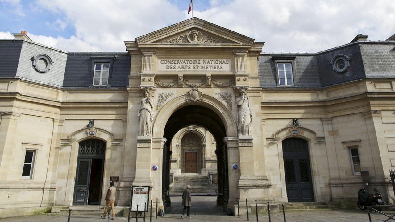 Le Conservatoire national des arts et métiers, à Paris.