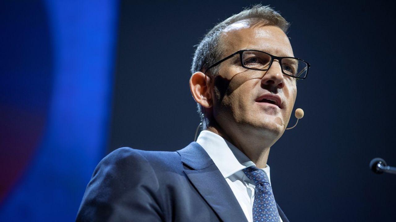 Détenteur de 29,9% du capital de Metro, l'investisseur tchèque Daniel Kretinskyveut «pouvoir agir avec plus de souplesse à l'avenir sans avoir à faire une offre obligatoire». (Photo by Thomas SAMSON/AFP)