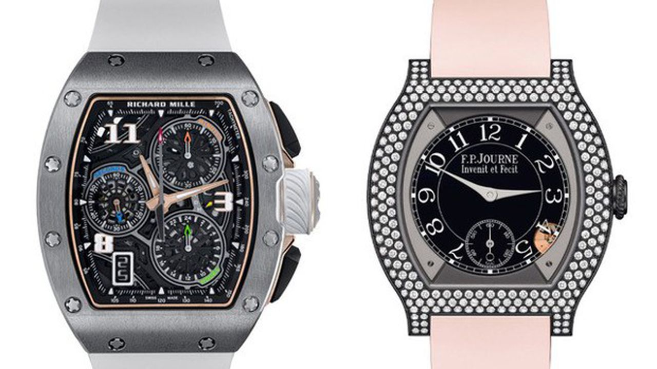 Heures Actuelles : montres en titane