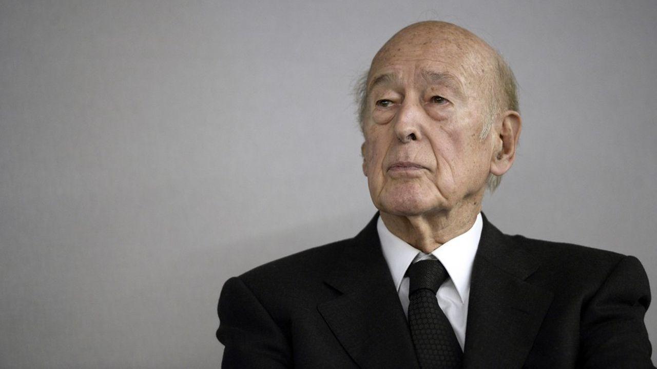 Valéry Giscard d'Estaing a fait l'une de ses dernières apparitions publiques le 30septembre 2019 lors des obsèques à Paris de Jacques Chirac.
