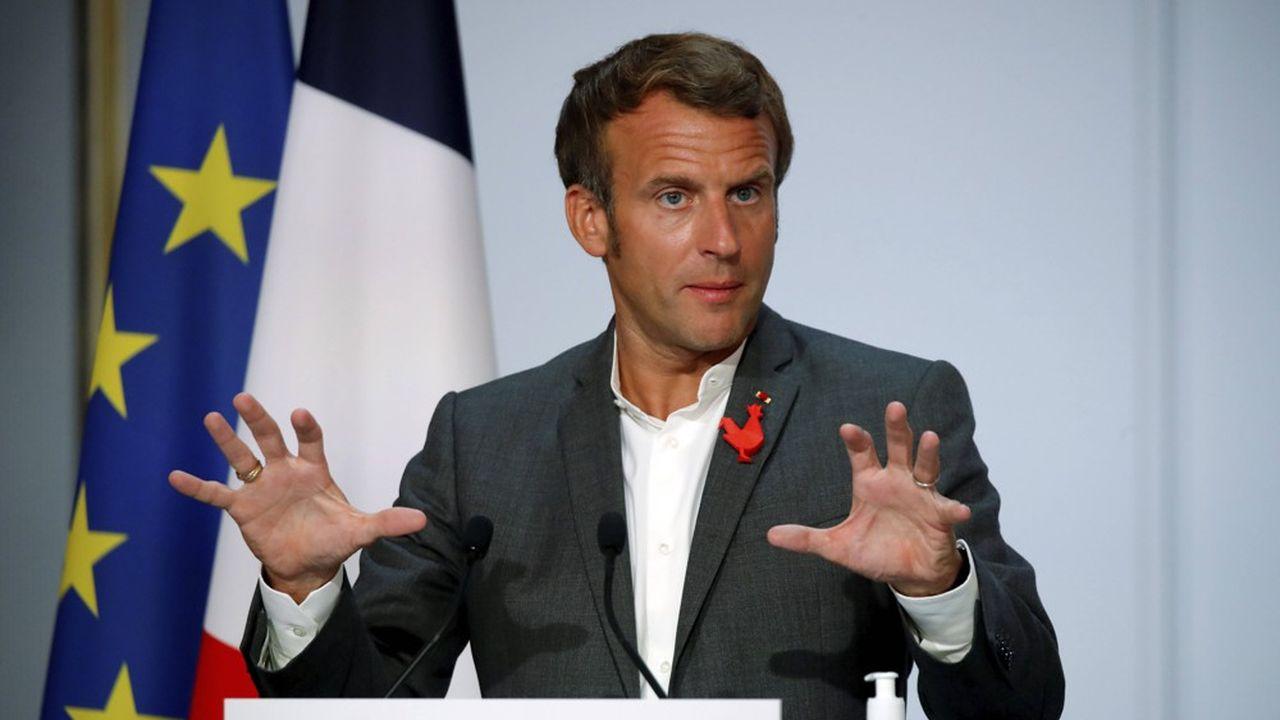 Ce lundi soir le chef de l'Etat s'exprimait devant une centaine d'entrepreneurs de la « French Tech ».