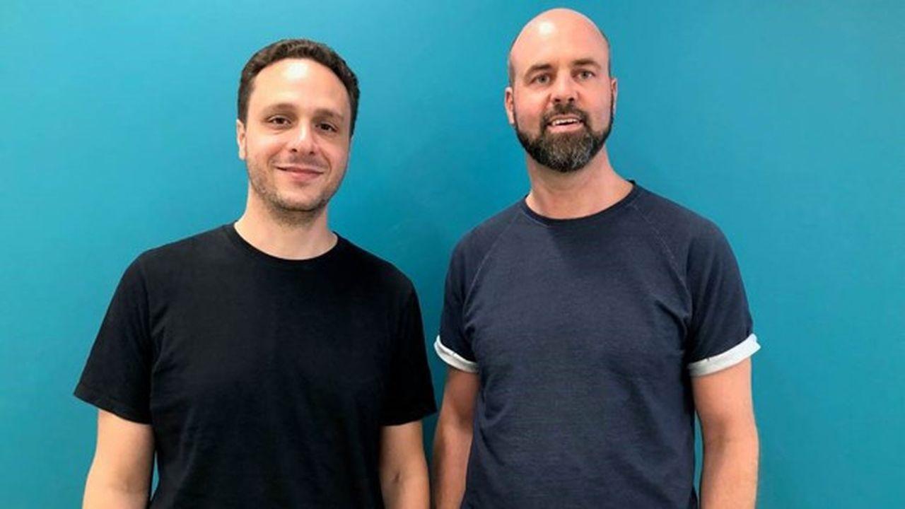 Jonathan Dahan (à gauche) et Nick van Roekel (à droite), les deux fondateurs de Fintel,conservent une large majorité du capital.