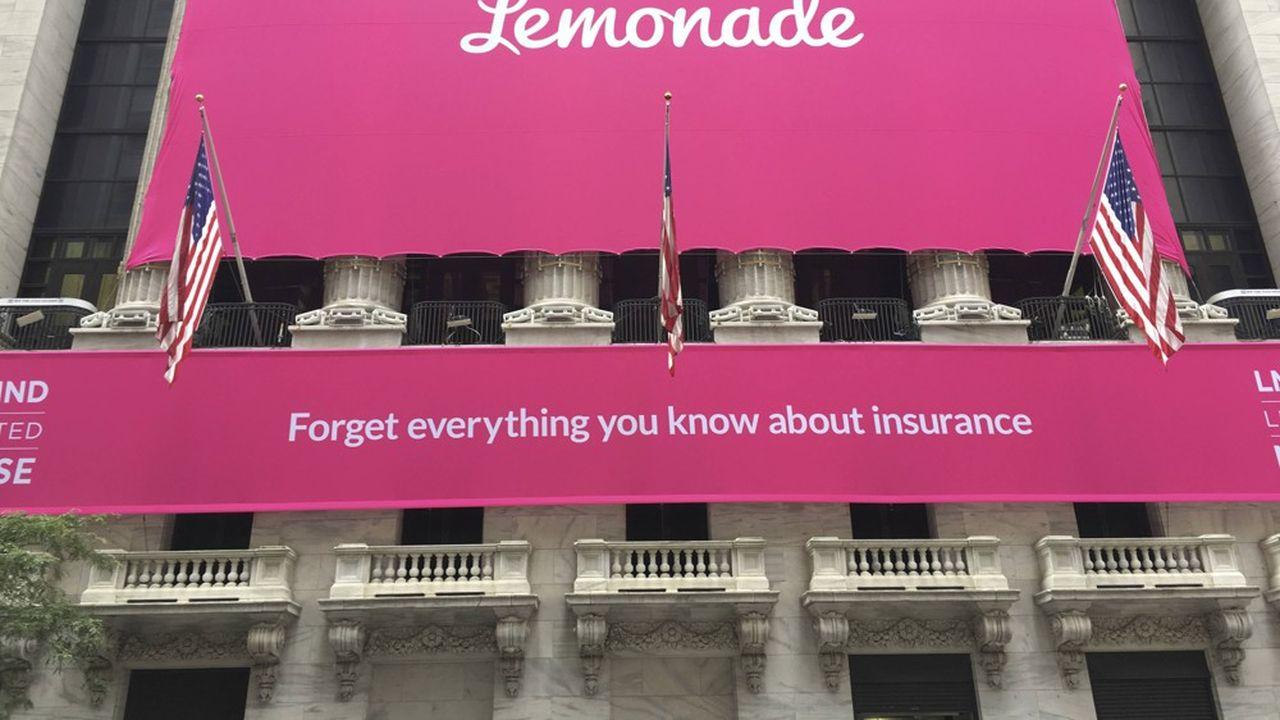 Lemonade s'est cotée cet été avec succès à Wall Street.
