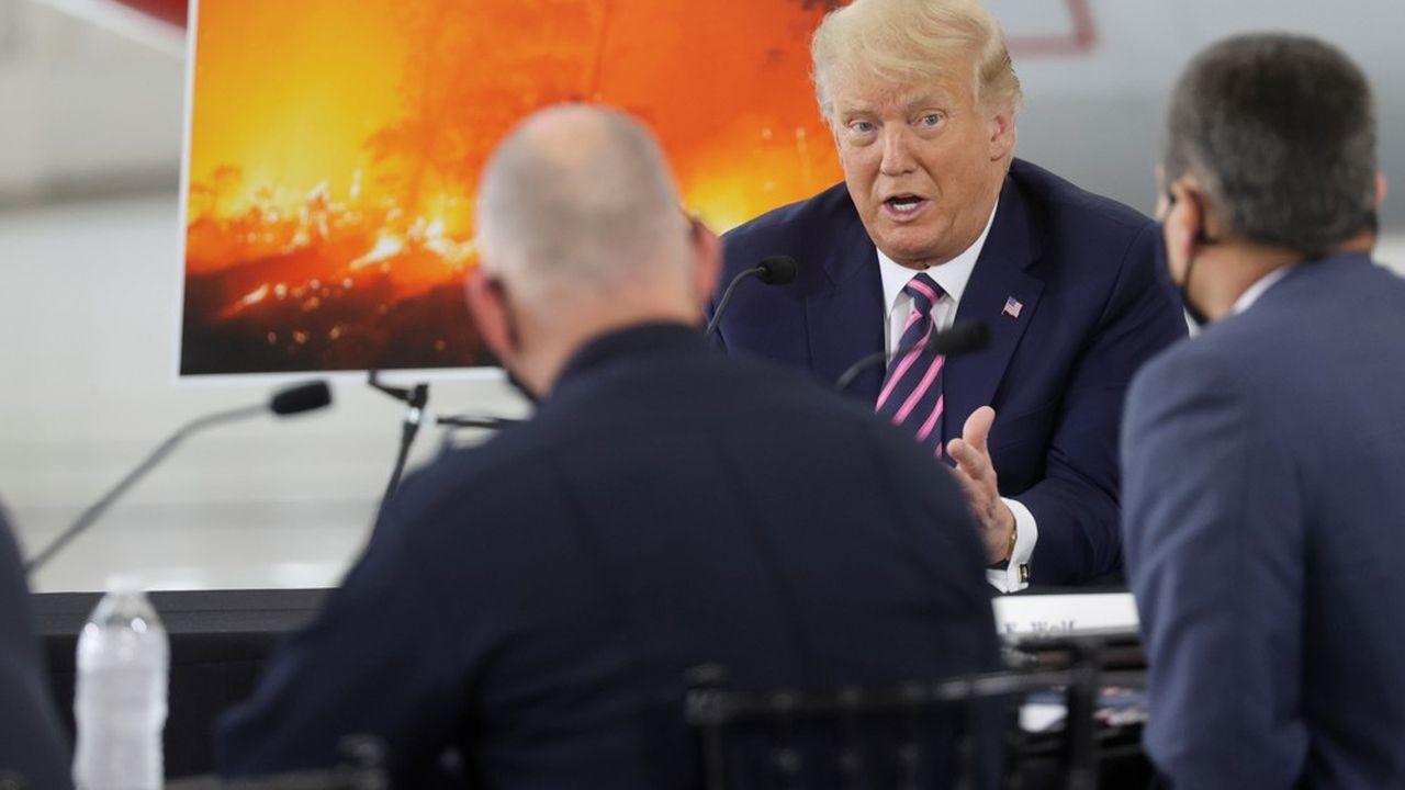 Le président américain a déjà tenu des propos climatosceptiques et critique régulièrement les politiques environnementales de la Californie.