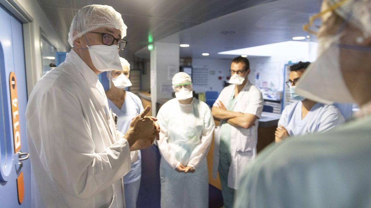 Santé publique France a fait état mardi de 7.852 nouvelles contaminations dues au coronavirus en 24heures.