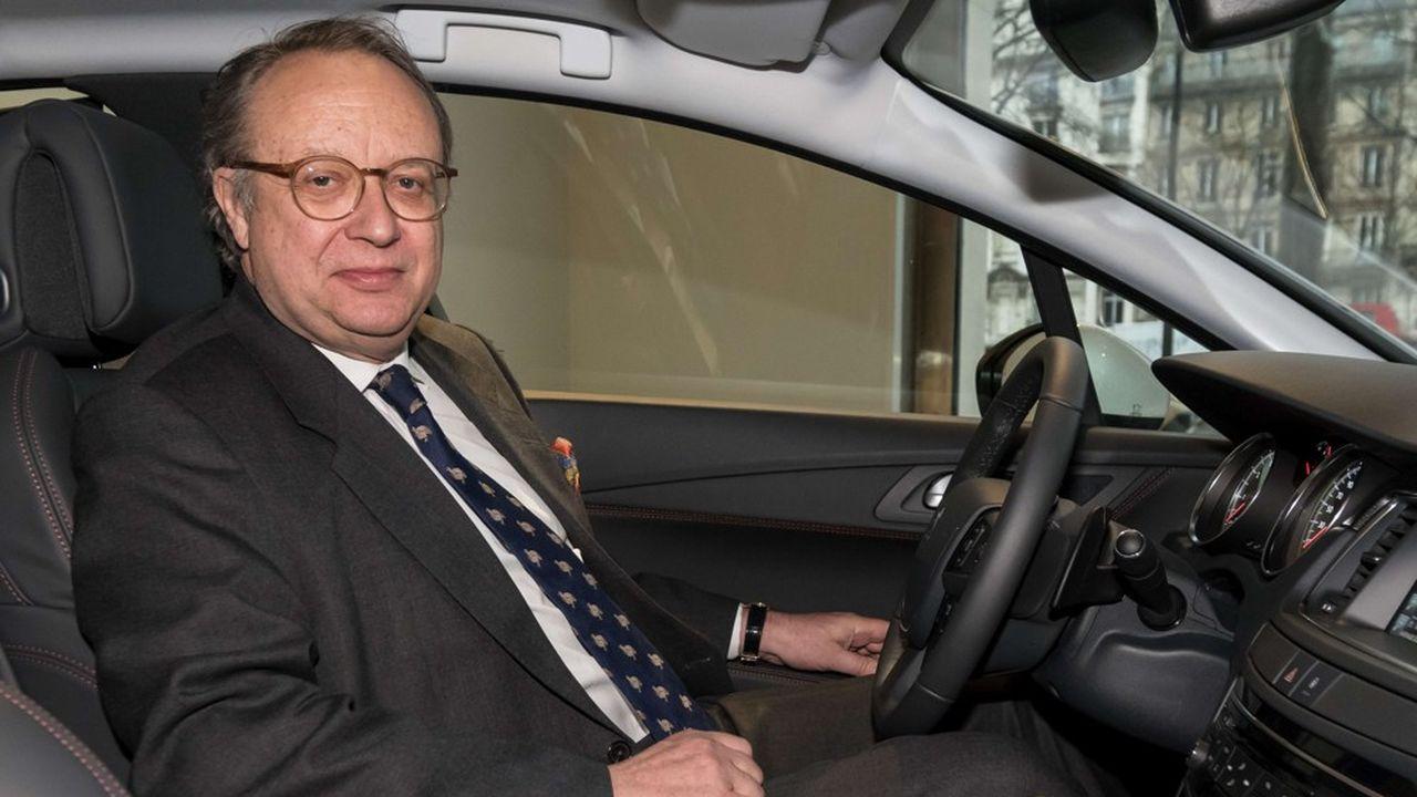 Robert Peugeot, PDG du holding familial FFP, actionnaire de PSA.