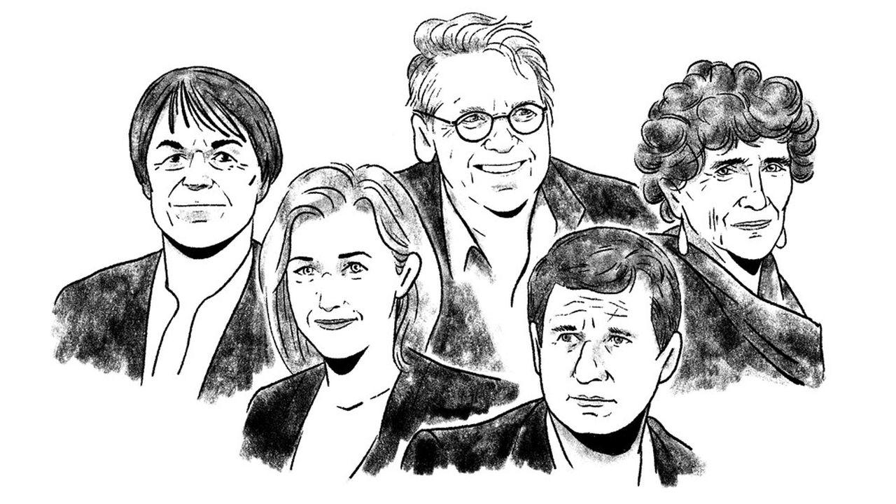 Nicolas Hulot, Barbara Pompili, Daniel Cohn-Bendit, Yannick Jadot, Isabelle Autissier… figures emblématiques de l'écologie d'aujourd'hui.