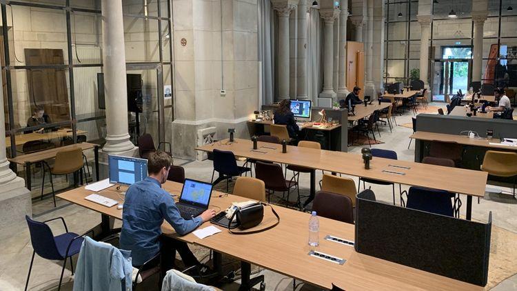La société W'iN accueille depuis la sortie du confinement ses premiers co-workers dans la chapelle Mondésir à Nantes.