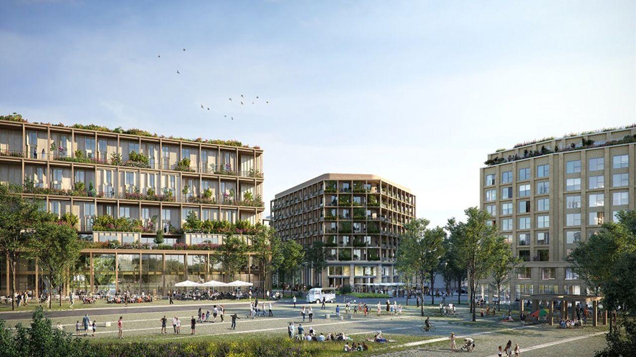 Dans le cadre du projet Reinventing Cities lancé par le C40 et la Ville de Paris, le quartier zéro carbone de la porte de Montreuil. Il est porté par le groupement Nexity, Engie et Crédit Agricole Immobilier.