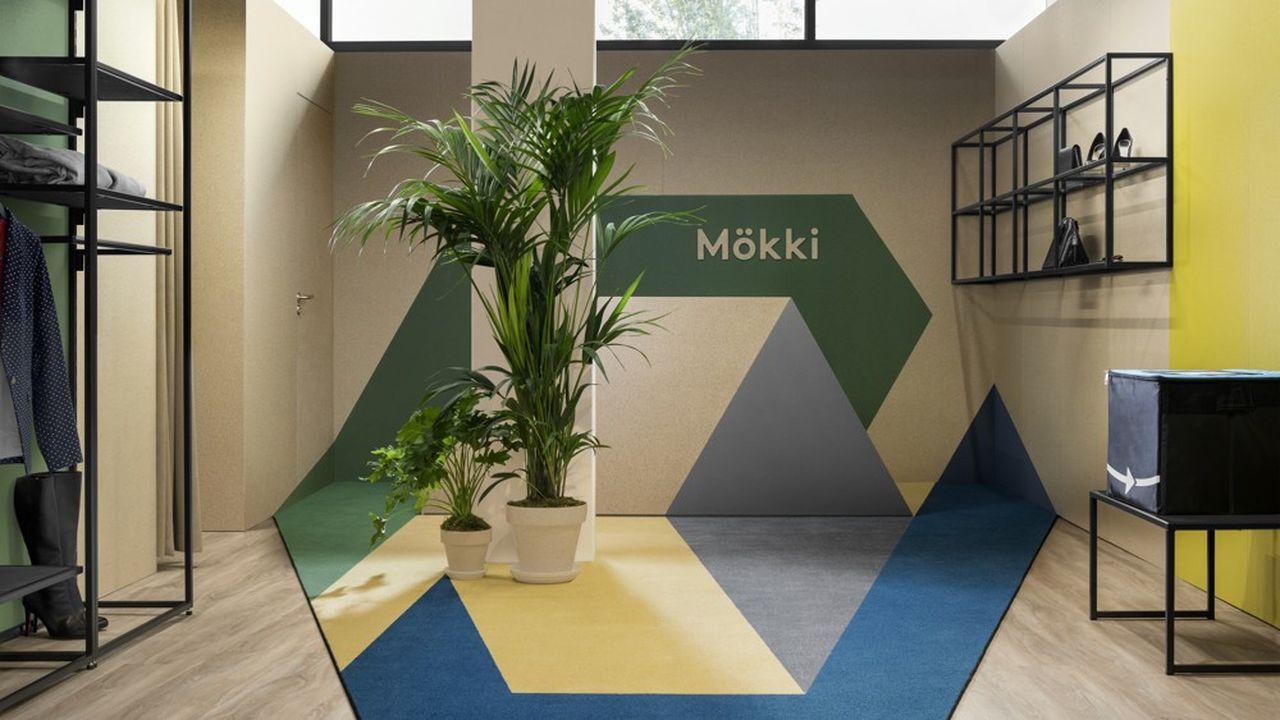 Dans la tour Initiale (la Défense), Mökki propose des services de consommation responsable au bureau.