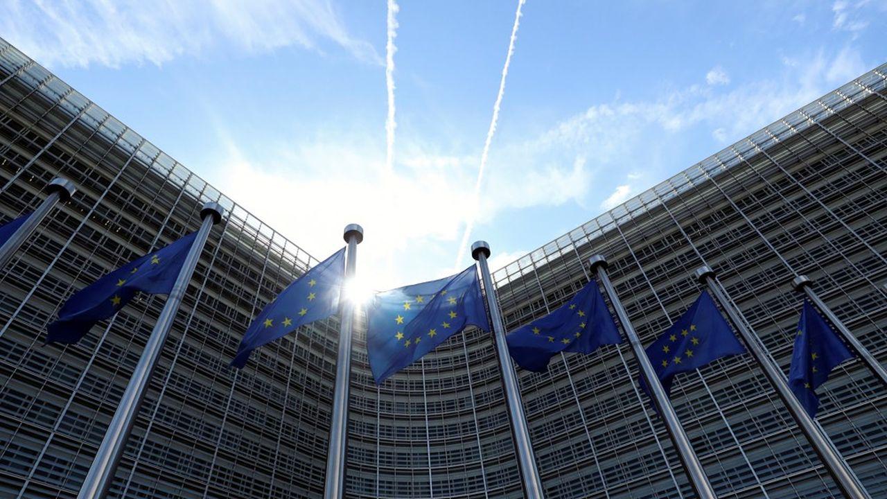 Le siège de la Commission européenne, l'une des principales institutions de l'Union européenne.