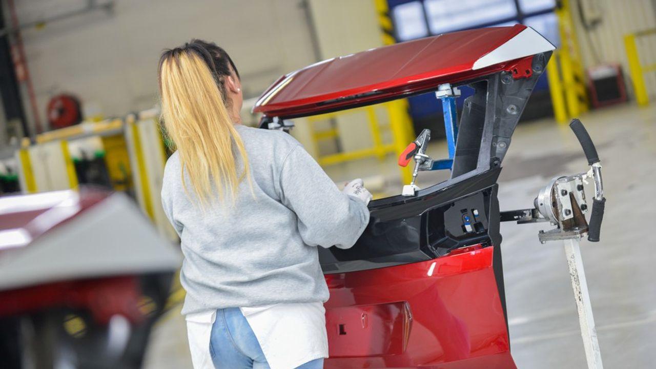 L'usine d'Audincourt fabrique des pare-chocs et des hayons pour des constructeurs comme Peugeot, Renault, Volkswagen…