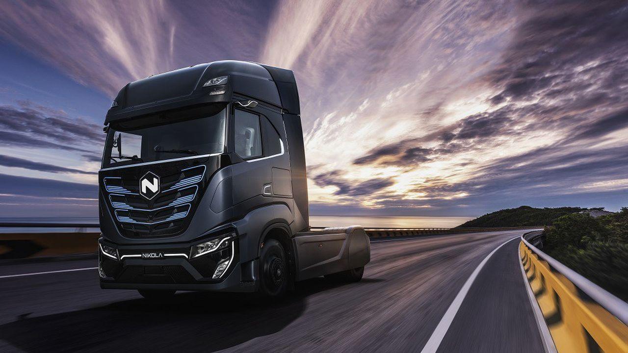 Nikola est particulièrement connu pour son camion roulant à l'hydrogène, qui n'a pas encore été commercialisé.