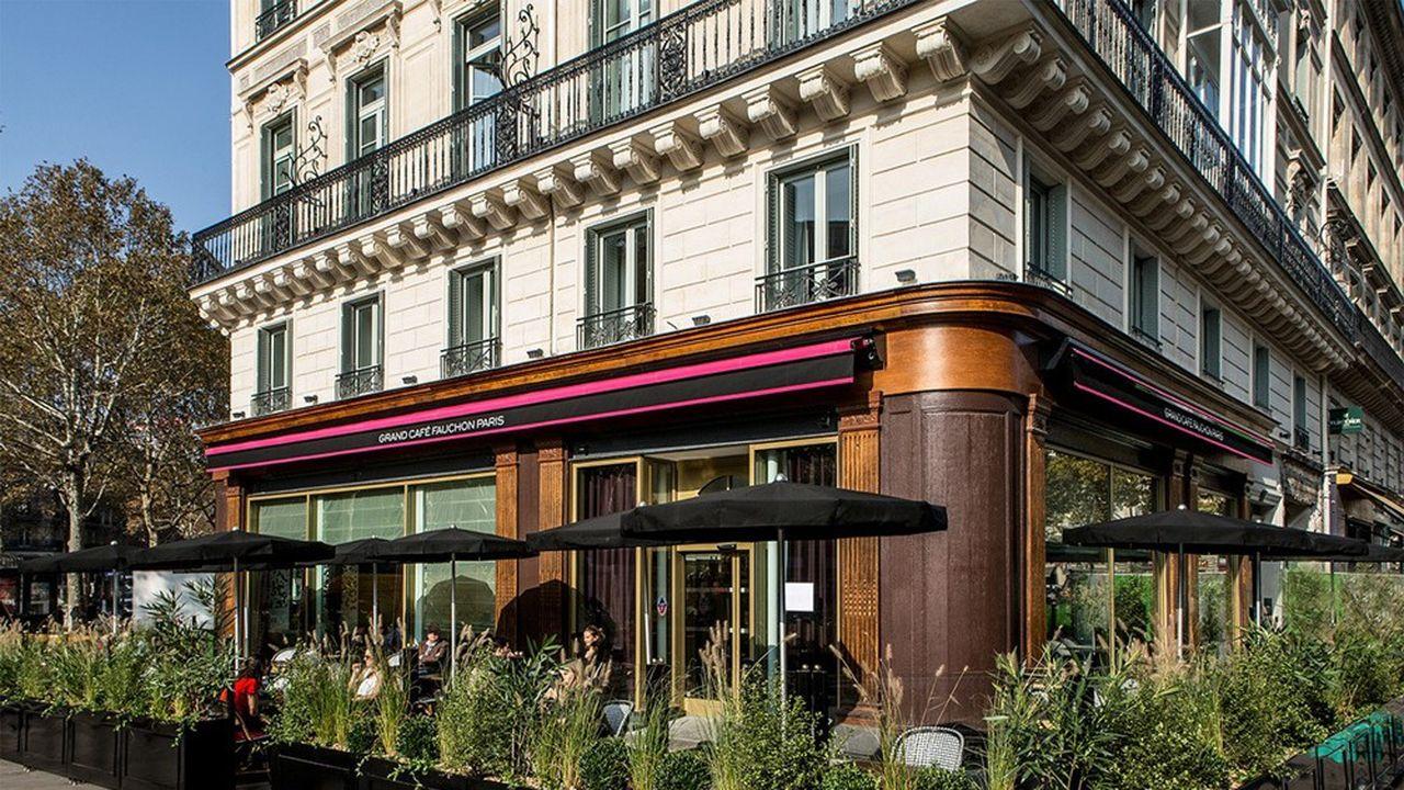 A la Madeleine restera l'hôtel, le Grand Café Fauchon et une boutique de thés et infusions.