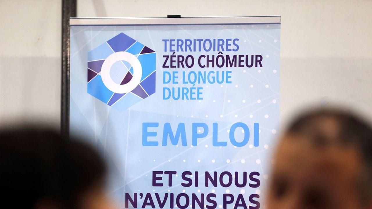 L'expérimentation Territoires zéro chômeur de longue durée a permis de créer un millier d'emplois.
