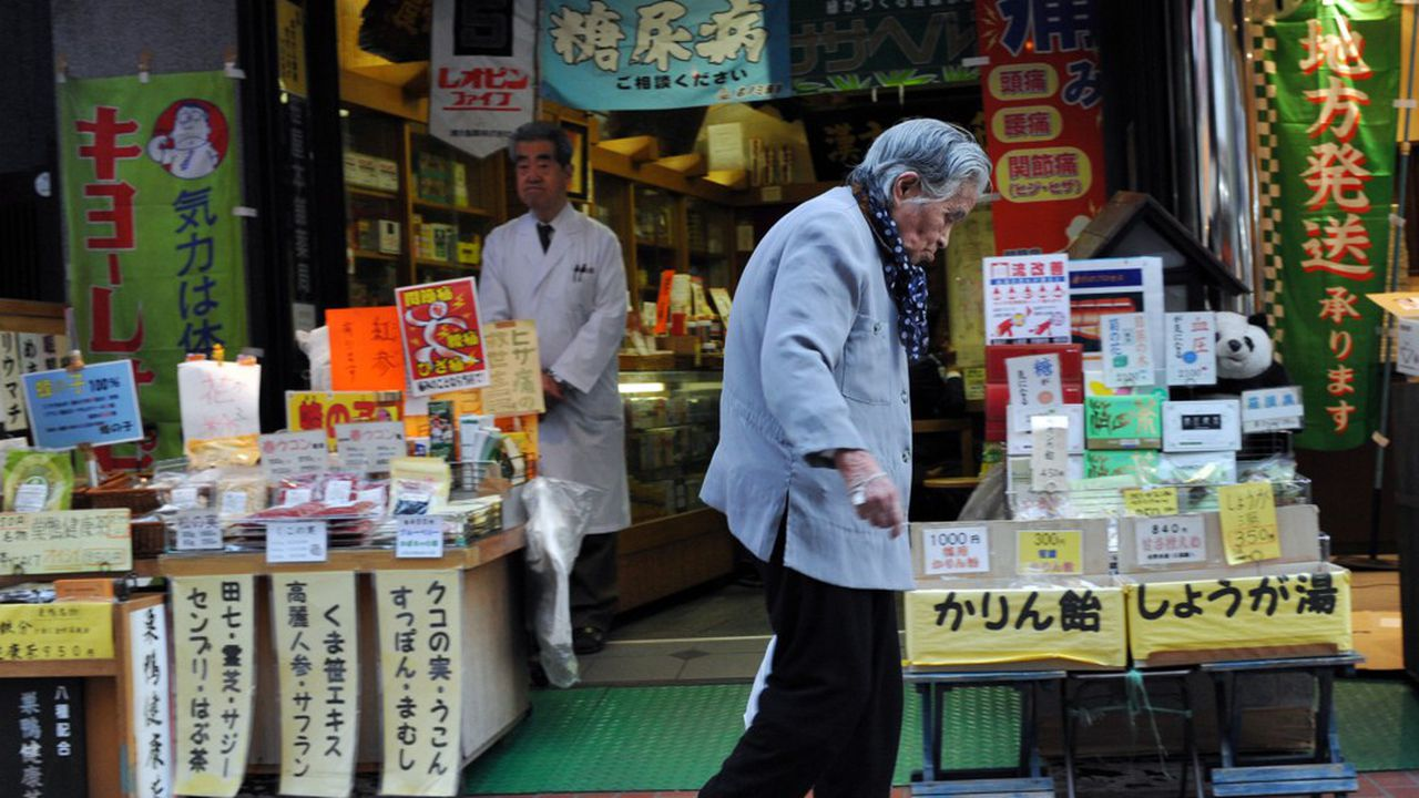 La population active est condamnée à fondre au Japon tant la population est vieillissante. L'enjeu démographique n'est pas le moindre pour le nouveau Premier ministre.