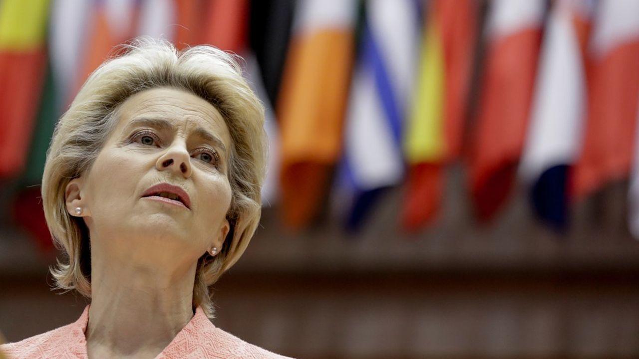 Ursula von der Leyen fait du pacte vert et de la transition numérique les piliers de son action.