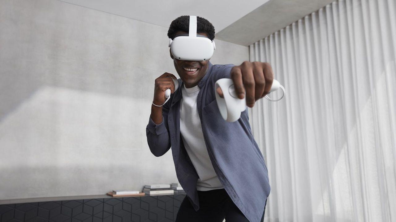 Mercredi, Oculus a dévoilé le Quest2, une nouvelle version de son casque de réalité virtuelle commercialisé depuis mai2019.
