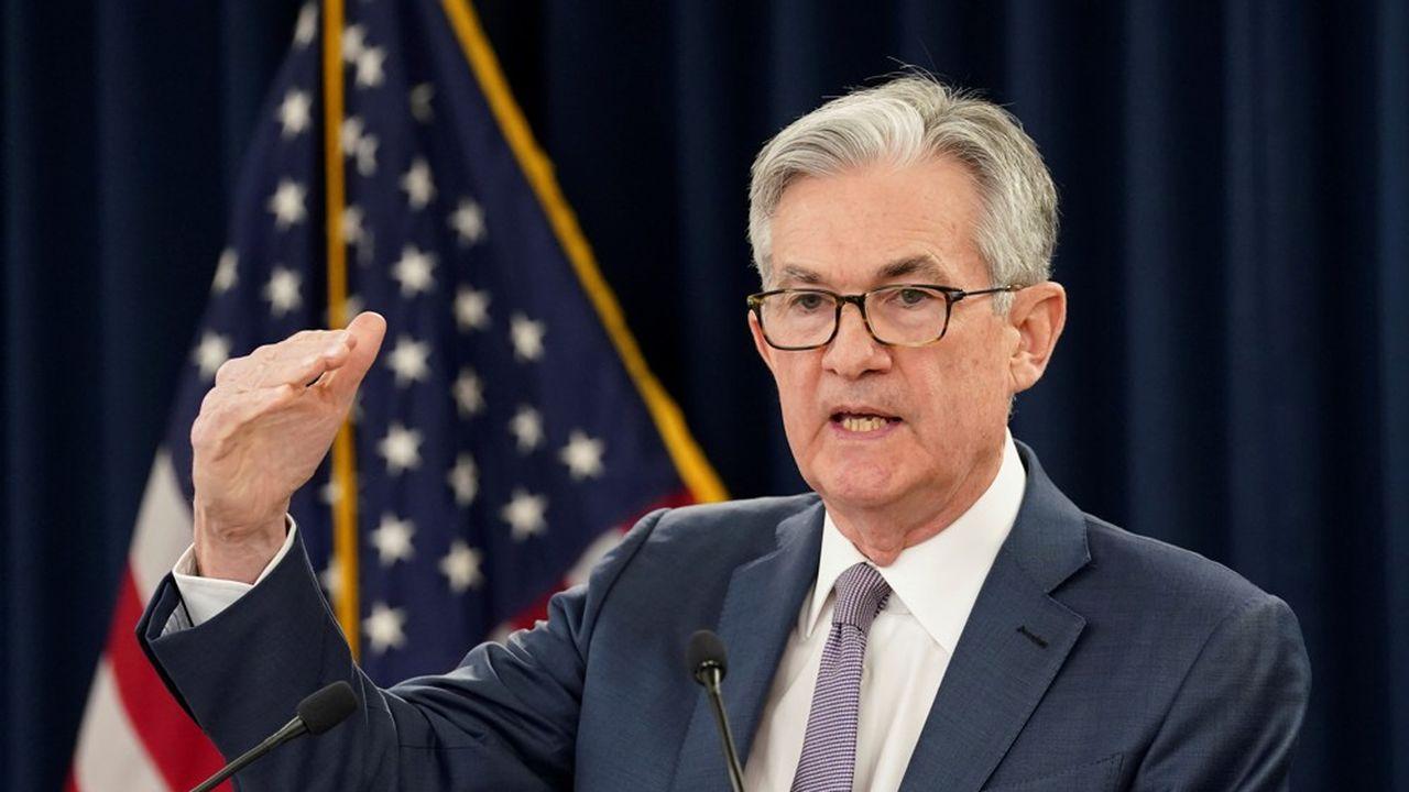 Le président de la Réserve fédérale américaine, Jerome Powell.