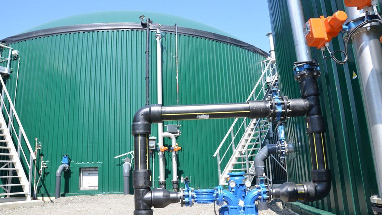Sur 370 entreprises actives dans le secteur du gaz naturel, 60% sont déjà tournées vers le gaz vert.