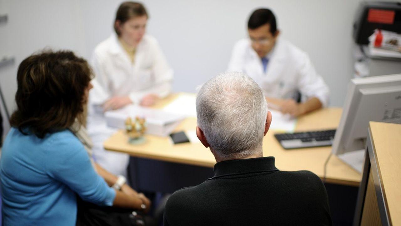 Une consultation médicale au centre hospitalier universitaire d'Angers (Maine-et-Loire).