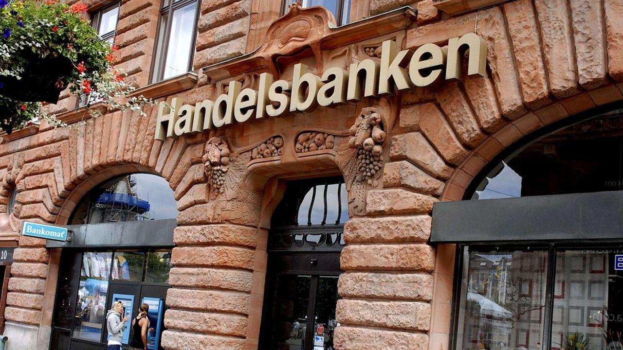 Mercredi, le suédois Handelsbanken a annoncé qu'il allait diviser par deux le nombre d'agences dans le royaume.