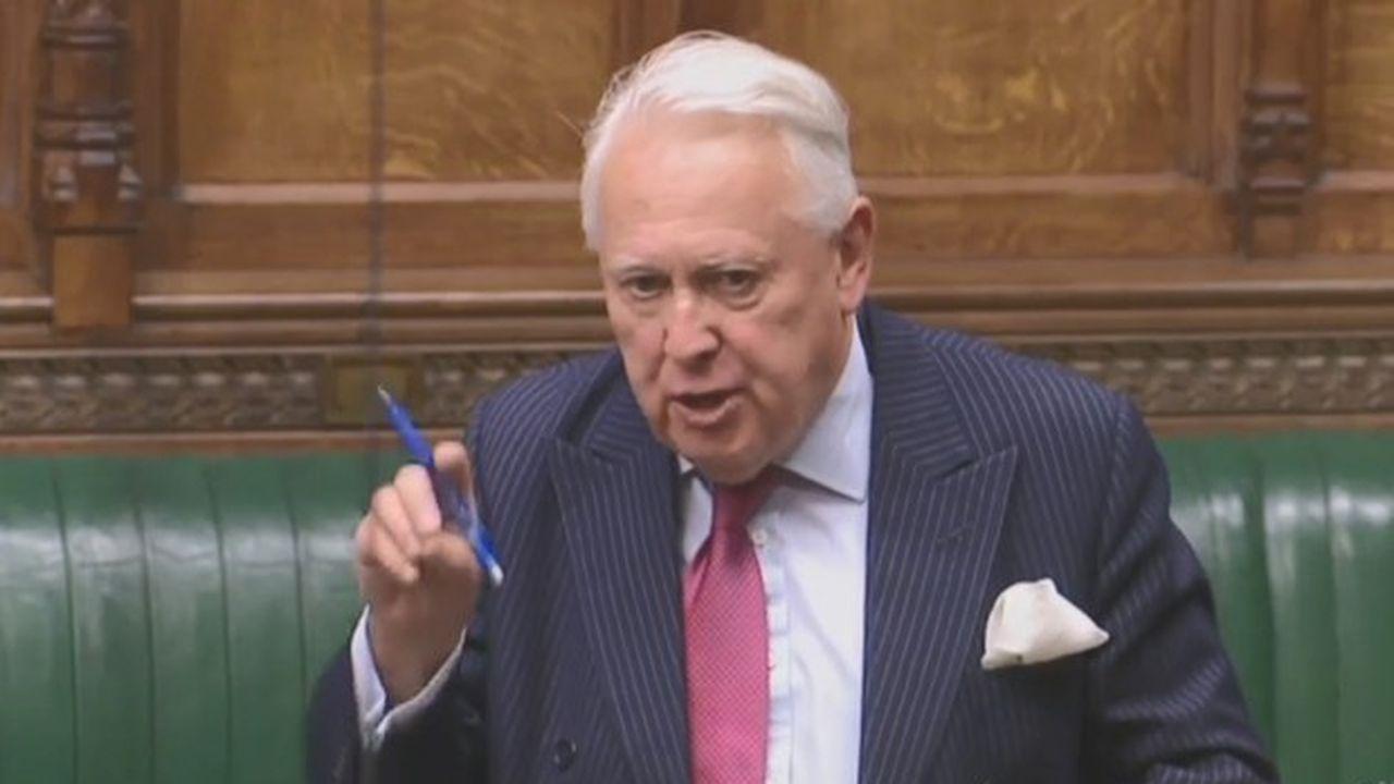 Le président conservateur de la Commission parlementaire de la Justice, Bob Neill, avec qui Boris Johnson a accepté de transiger.