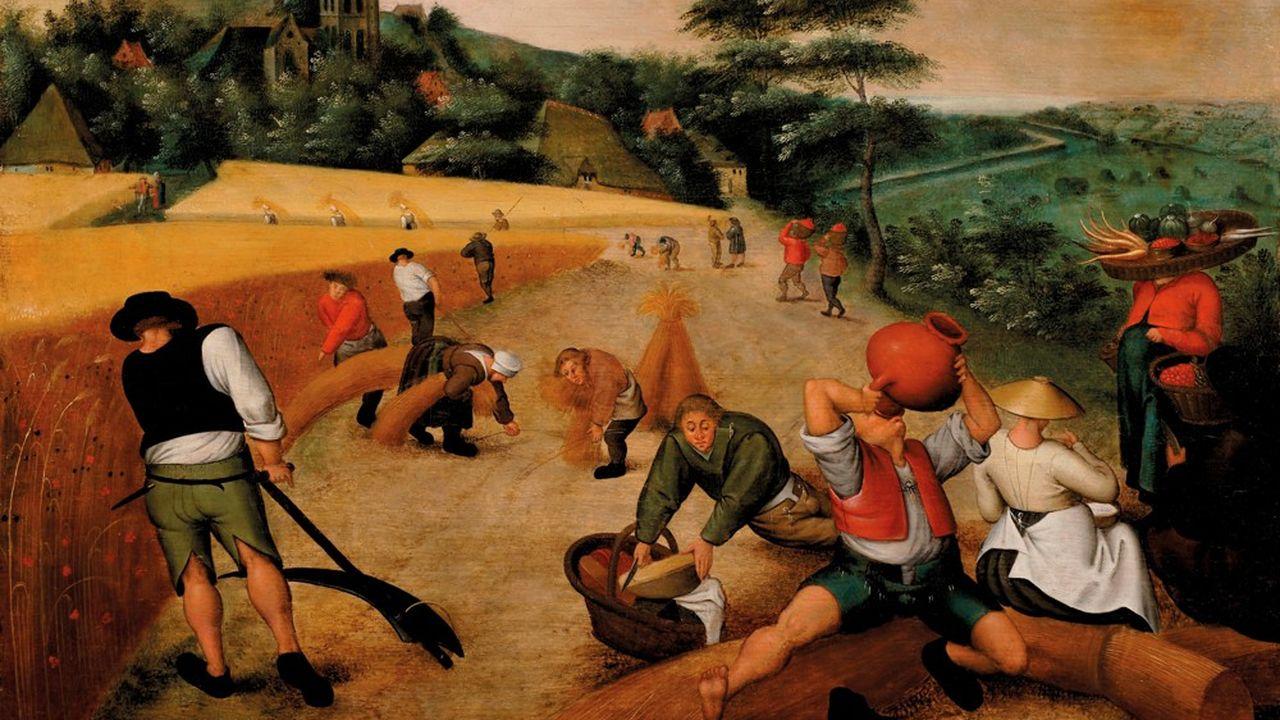 Lot 10PIETER BRUEGHEL LE JEUNE (1564-1638)L'Eté : la moissonhuile sur panneau54 x 75 cmEstimation : €400,000-600,000