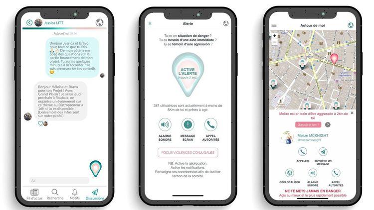 L'application The Sorority permet aux femmes d'alerter les autres utilisatrices lorsqu'elles se sentent en danger, mais aussi d'échanger via un chat.